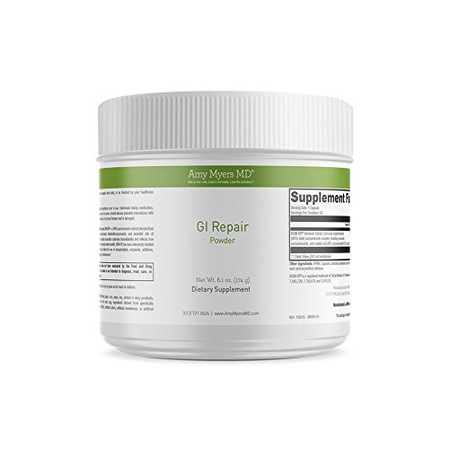 Dr. Amy Myers G.I. Repair Supplement for Leaky Gut – Reduce Symptoms like Constipation, IBS, Diarrhea, Bloating, and Irregularity – Naturally Restore Gut Lining and Promote Healthy Thyroid Function by Amy Myers, MD