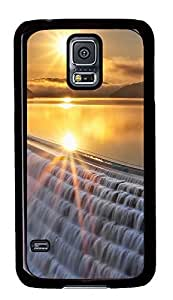 Samsung Galaxy S5 Landscapes sunset 7 PC Custom Samsung Galaxy S5 Case Cover Black