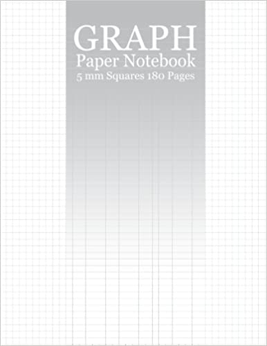 PDF Gratis Graph Paper Notebook: 180 Pages Of 8 5x11 Inches