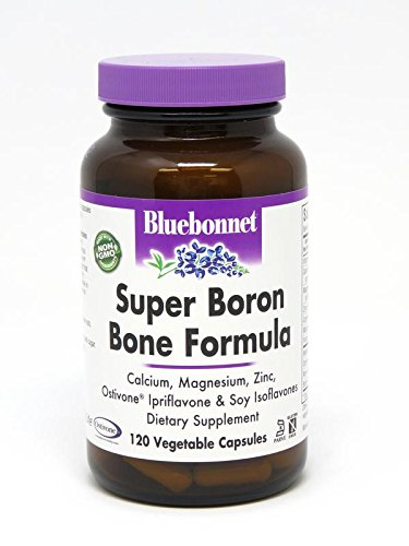 BlueBonnet Super Boron Bone Formula Vegetarian Capsules, 120 Count Review