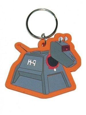 Doctor Who K9 Rubber Keychain product image