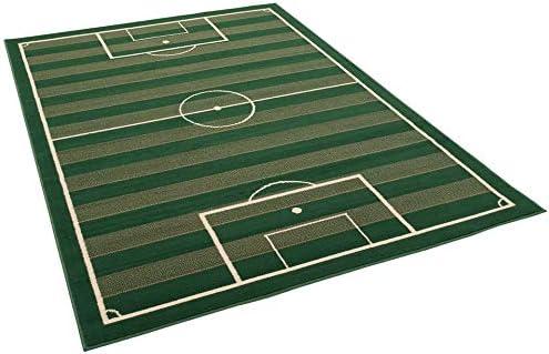 Pergamon Kinderteppich Trendline Fussballplatz in 4 Gr/ö/ßen