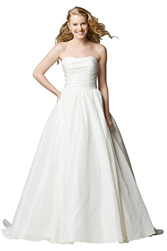 Train Taffeta Wedding Gown - 8