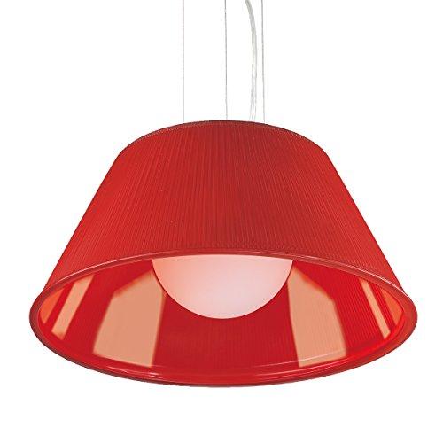 (Eurofase 23068-025 Ribo 1-Light Large Pendant, Chrome)