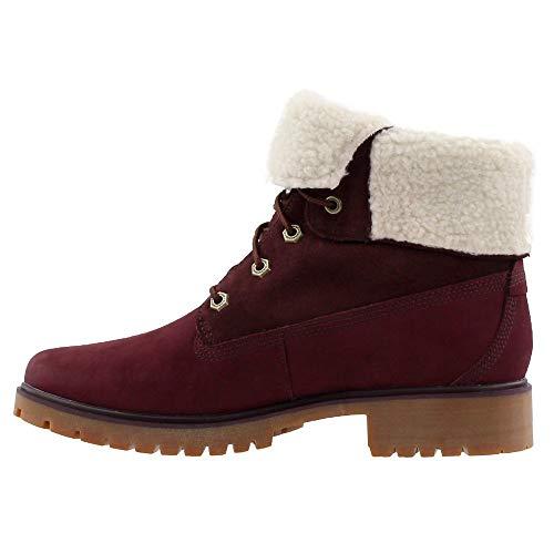 F Nubuck Wp Burgundy Jayne Teddy Fleece Boot Womens Timberland d RFqzOwnXX