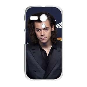 Motorola Moto G Cell Phone Case White Louis Tomlinson ATF013429