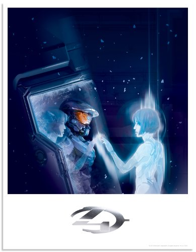AWAIT HALO 4 Limited Edition Fine Art Lithograph by Robogabo