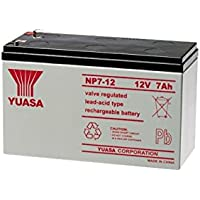 NP7.2-12FR 12V 7.2Amp Yuasa SLA Battery F1 Terminal - Np Series Voltage: 12V Type: SLA, Voltage: 12V