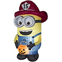 Universal Despicable Me 8.5-ft x 4.75-ft Minion Halloween