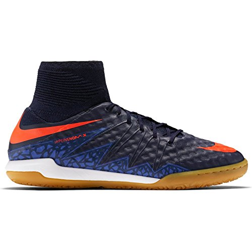 Nike Mens Hypervenomx Proximo Ic Scarpe Da Calcio Indoor Ossidiana Totale Cremisi 484