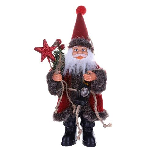 Price comparison product image Pendant & Drop Ornaments - Santa Snowman Elk Doll Christma Ornament Favor Party Decoration Home Gift - Day Bird Noel Dame Christmastide Christmastime Dolly Yule Skirt Chick - 1PCs