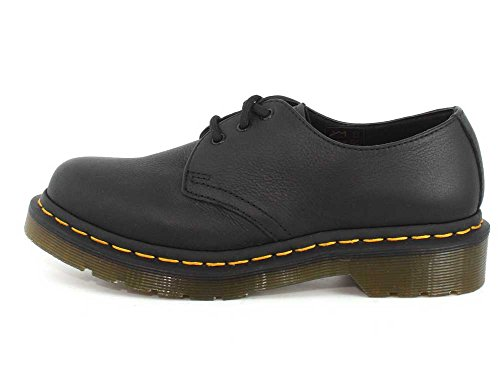 Scarpe Virginia Black Leather Martens 1461 Donna Dr nvSg8c4qUB