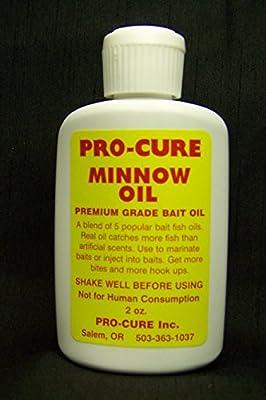 Pro-Cure Minnow Bait Oil, 2 Ounce