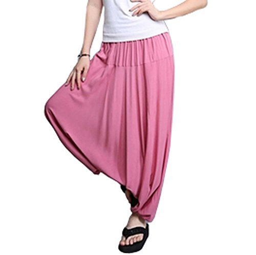 Breathable Travel Home Loose Pants Sagging Pants Yoga Pants Sunscreen by Panda Superstore