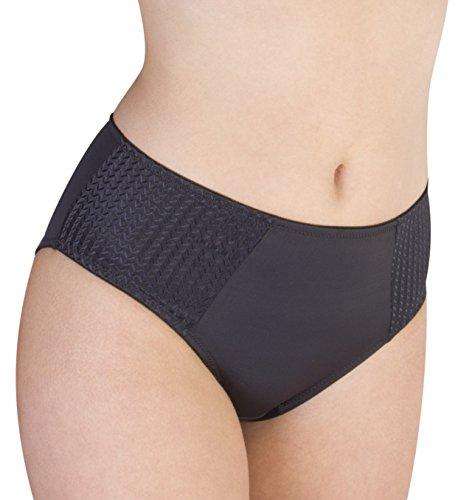 (Carole Martin Women's Underwear Hipster Panties, Ultra Soft Microfiber Comfort Briefs Black )
