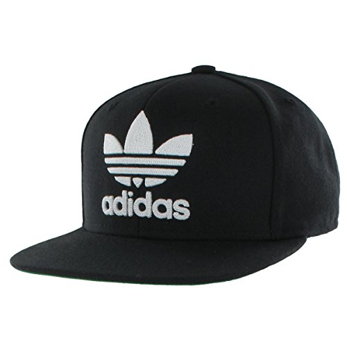 adidas Men's Originals Snapback Flatbrim - Snap Back Cap Hat