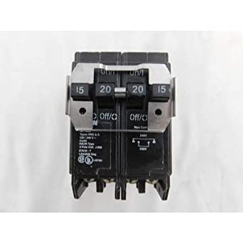 BQC2302115-CUTL   EATON CUTLER HAMMER BREAKER QUAD 2SP//15A 2P//30A