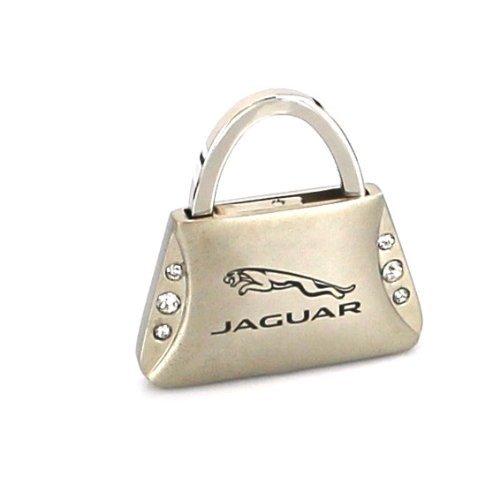 UPC 789545257819, Jaguar Purse Shape Keychain W/6 Swarovski Crystals