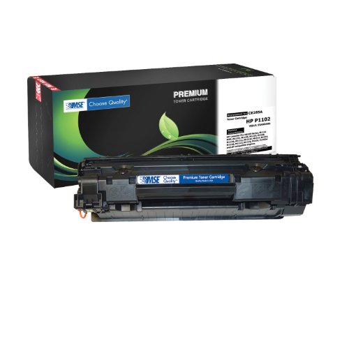 Premium Black Laser Printer Toner Cartridge High Quality - HP CE285A 85A Quality Guaranteed - Compatible with HP All-in-One Printers LaserJet Pro M1130 Series, LaserJet Pro M1210 Series, LaserJet Pro M121, LaserJet Pro P1102, LaserJet Pro P1102 w
