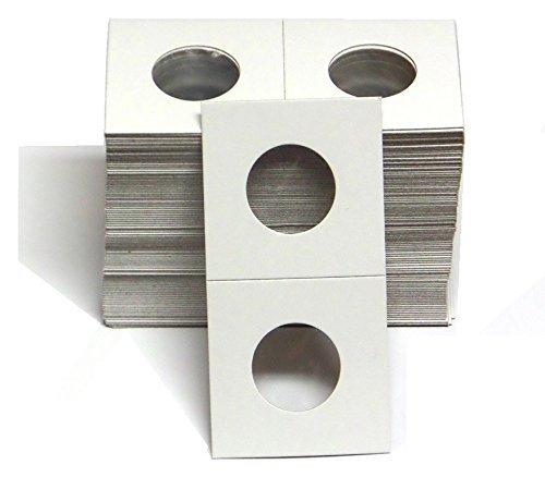 1 – 100 Pack of 2×2 Quarter Coin Cardboard Holder –