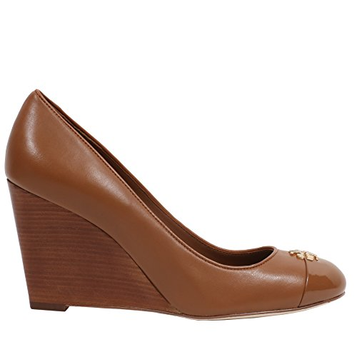 Pictures of Tory Burch Jolie 85MM Closed Toe Wedge Royal Tan 8.5 M US 1