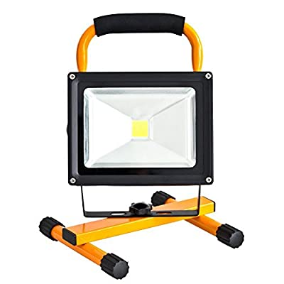 ShenLang Rechargeable Flood Light LED Portable Spot Work Lamp Camping Fishing Lamp Emergency SOS Function