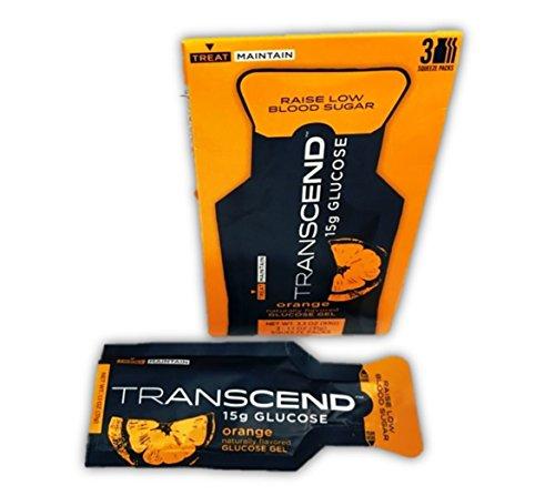 - Transcend 15g Orange Glucose Gels in 3-Packs (1)