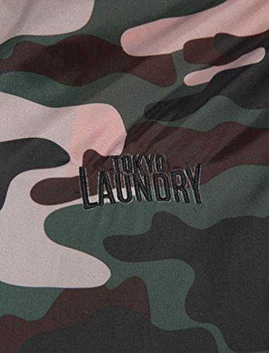 Foderato Leggero Uomo Cappuccio Mimetico 1j8903 Tokyo Giacca Militare Estivo Laundry WWH0Fq