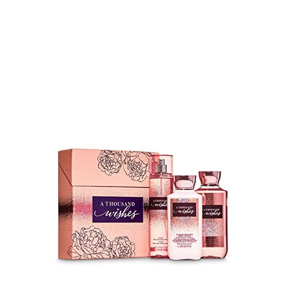 Bath and body works THOUSAND WISHES large box gift set for festive season