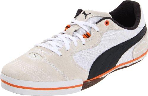 Puma Unisex Esito Vulkanisert Sala Sneaker Hvit / Mørk Marineblå / Lag Oransje