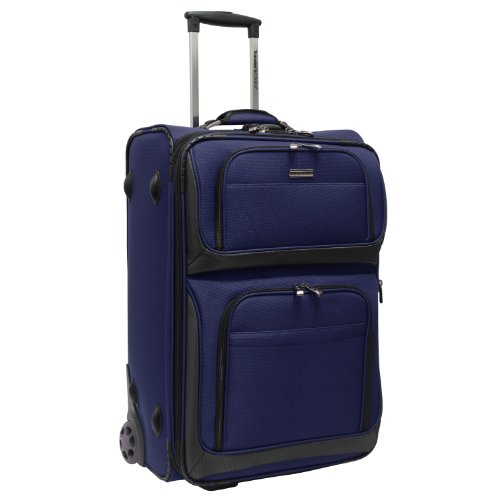 travelers-choice-conventional-ii-lightweight-expandable-rugged-rollaboard-rolling-luggage-navy-26-in