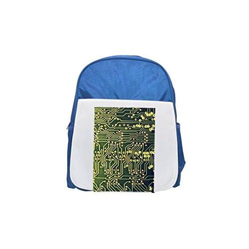 Pcb–Printed curcuit board. Printed Kid 's Blue Backpack, Cute de mochilas, Cute Small de mochilas, Cute Black Backpack, Cool Black Backpack, Fashion de mochilas, large Fashion de mochilas, Black Fashion Back