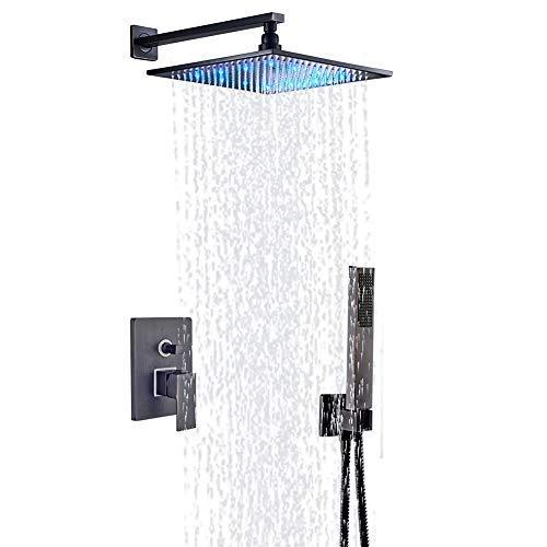 single color led shower head - 9