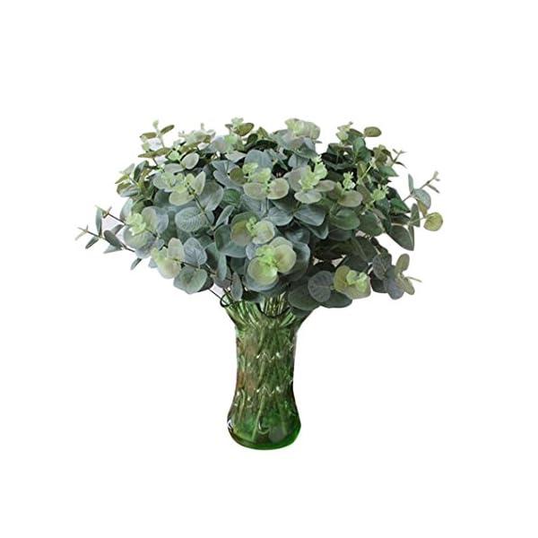 Cywulin-Artificial-Greenery-Eucalyptus-Bushes-Foliage-Plants-Leaves-Fake-Shrubs-Plastic-Bloom-Filler-Heads-House-Office-Farmhouse-Garden-Patio-Wedding-Indoor-Outdoor-Verandah-Decor-Wholesale