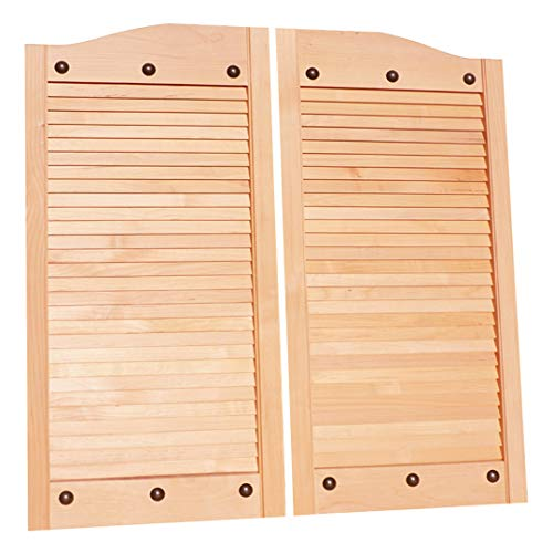 Cafe Doors by Cafe Doors Emporium | Alder Wood Cafe Doors | Prefit for 36