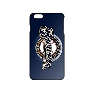 Fortune milwaukee brewers logo 3D Phone Case for iPhone 6
