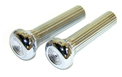 442 Chevelle - Compatible With 1968 1969 1970 All GM Models Chevelle GTO 442 GS SS Judge Chrome Door Lock Pull Pair (J-4-10)