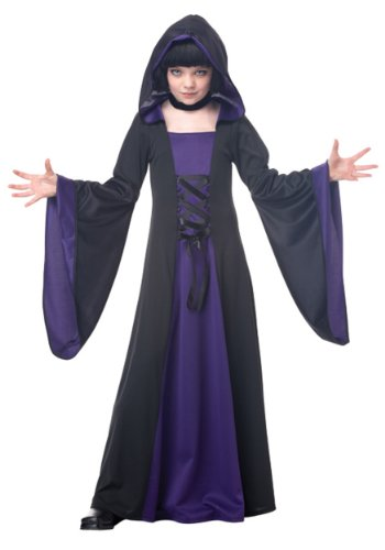 California Costumes Hooded Robe Child Costume, Small (Demon Costume For Girls)