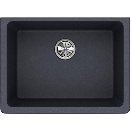Elkay Quartz Classic Single Bowl Undermount ELGU2522GY0