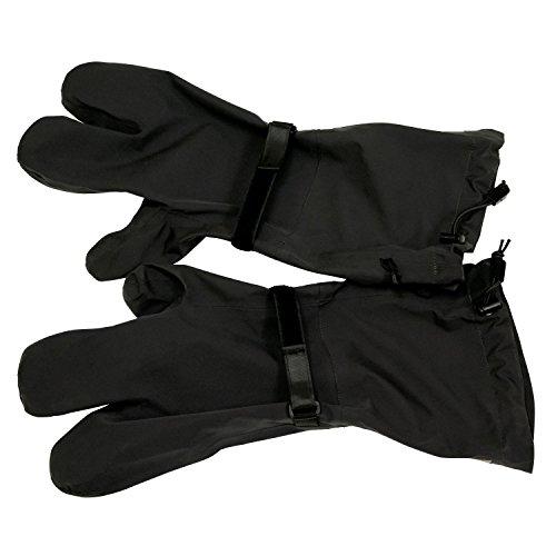 - Frogg Toggs Pilot Storm Gauntlet, 3 Finger Gloves, Black, Size Large/X-Large