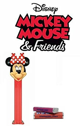 Pez Mickey Mouse & Friends Dispenser: Minnie Mouse (Polka Dot Bow) (Disney Pez Dispensers)
