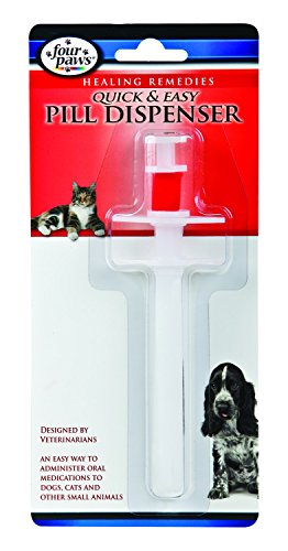(Four Paws Quick and Easy Pet Pill Dispenser )