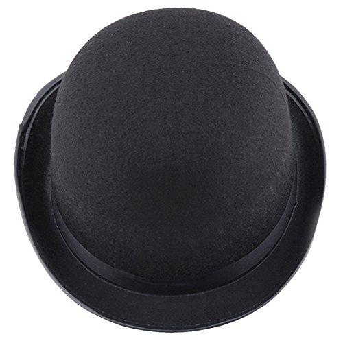 Euone  Halloween Clearance , Lack Hat Halloween Magician Magic Hat Jazz Hat for Woman Men