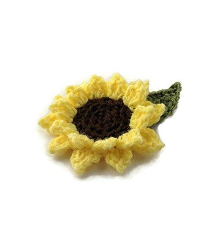 Amazon Sunflower Hair Clip Handmade