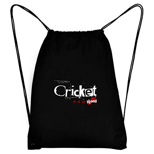 Teeburon Cricket IS IN MY BLOOD Sport Bag by Teeburon