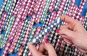 Chinese Finger Trap (72 Bamboo Chinese Finger Traps)