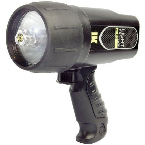 Light Cannon eLED L1,   Black (Underwater Kinetics Black Dive Light)