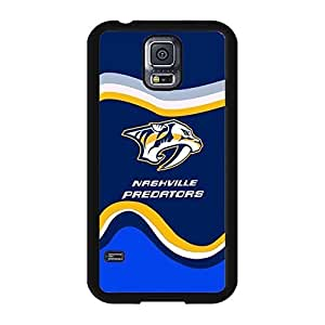 Nashville Predators Image Ice Hockey Team Logo Drop Proof Case Cover for Samsung Galaxy S5 I9600 Designed by HnW Accessories