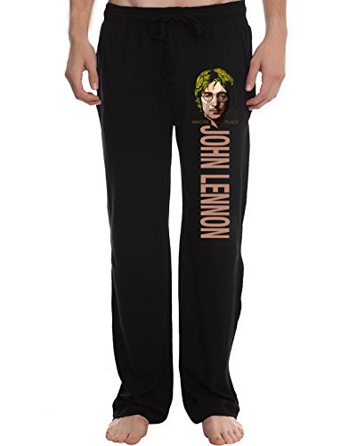 XJXP Men's John Winston Lennon Imagine Peace Lounge Pajama Pants