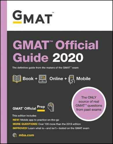 Pdf Test Preparation GMAT Official Guide 2020: Book + Online